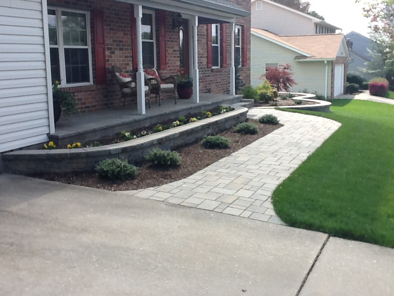 Landscaping Forest Hill Md : Hardscape lakeside landscaping